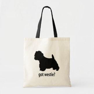 Got Westie Tote Bag
