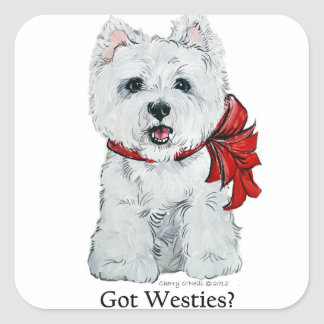 Got Westies? Square Sticker