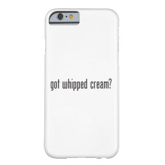 got whipped cream barely there iPhone 6 case