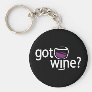 got wine? keychain