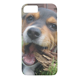 Got Wood? Happy Beagle Puppy iPhone 7 Case