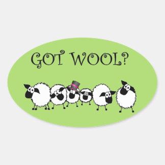 GOT WOOL? Sticker