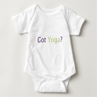 Got Yoga? Baby Bodysuit