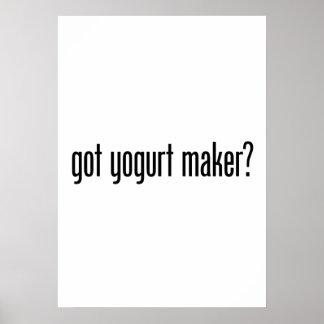 got yogurt maker poster