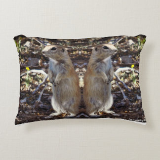 """""""Got Your Back"""" Ground Squirrel Pillow"""