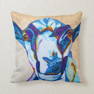 Got your goat! throw pillow