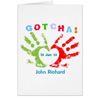 Gotcha Day! Adoption Announcement
