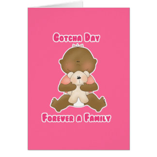 Gotcha Day Forever a Family Card