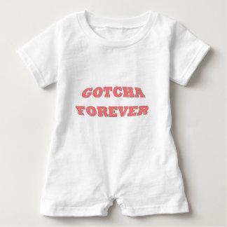 Gotcha Forever Pink Baby Romper