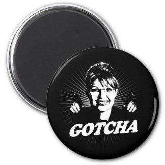Gotcha Journalism 2 Inch Round Magnet