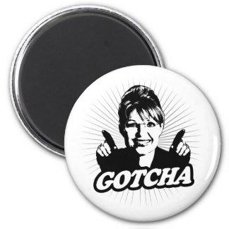 Gotcha Journalism Refrigerator Magnet