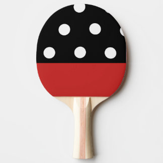 GOTCHA PING PONG PADDLE RACKET- RED AND BLACK