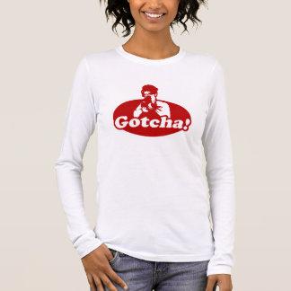 Gotcha Sarah Palin Gun Right to Bare Arms Long Sleeve T-Shirt