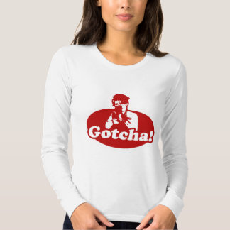 Gotcha Sarah Palin Gun Right to Bare Arms Tee Shirts