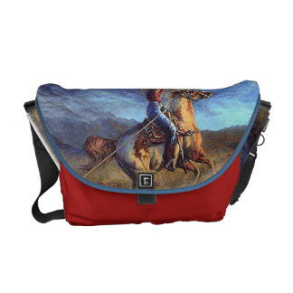 """Gotcha"" Western Messenger Bag"