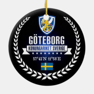 Göteborg Ceramic Ornament