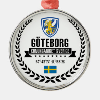 Göteborg Metal Ornament