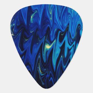 Goth a inspiré les nuances foncées du motif onglet de guitare