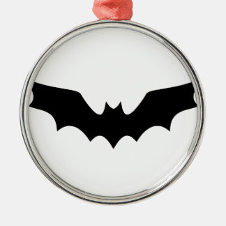 Goth Bat Metal Ornament