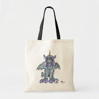 Goth Black Unicorn Magical Princess Unique-Corn Tote Bag
