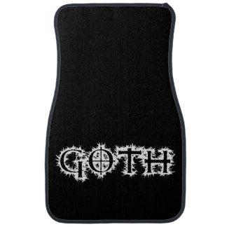 Goth Car Carpet