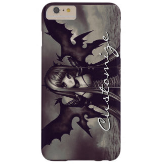 Goth Dark Fairy Anime Barely There iPhone 6 Plus Case
