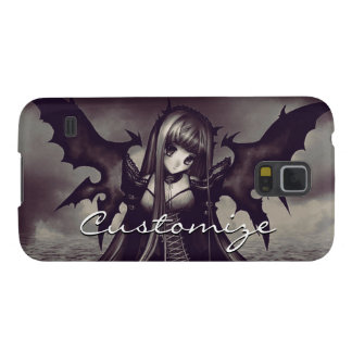 Goth Dark Fairy Anime Galaxy S5 Cases