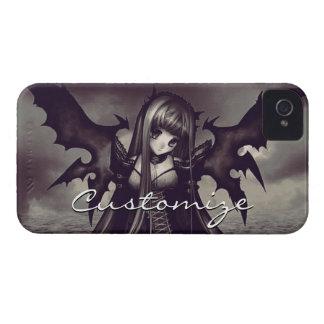Goth Dark Fairy Anime iPhone 4 Case