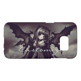 Goth Dark Fairy Anime Samsung Galaxy S7 Case