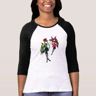 Goth Faerie Couple in Love Shirt
