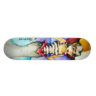 Goth Faery Custom Skateboard Designed Ireland