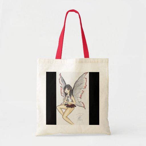 """Goth Fairy"" Budget Tote Tote Bag"