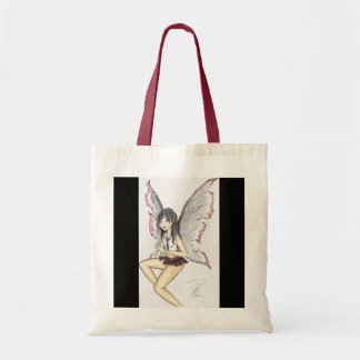 """Goth Fairy"" Budget Tote Budget Tote Bag"