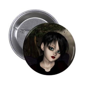 Goth Fairy Button