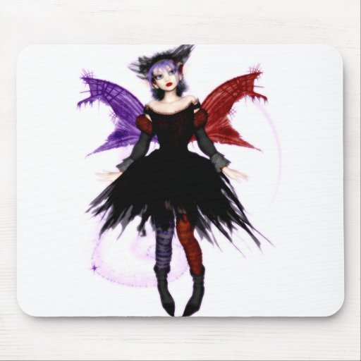 gOth FaiRy Mouse Pad