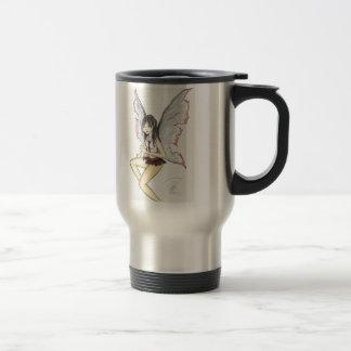 """Goth Fairy"" Travel/Commuter Mug"