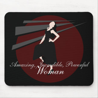 Goth Fashiongirl Mouse Pad