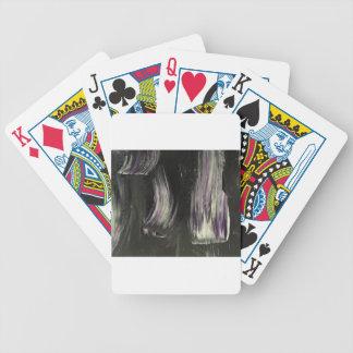 Goth fun ! bicycle playing cards