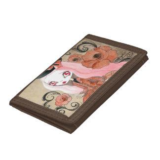 Goth Girl Abigail Tri-fold Wallet
