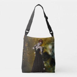 Goth Girl Cross Body Bag