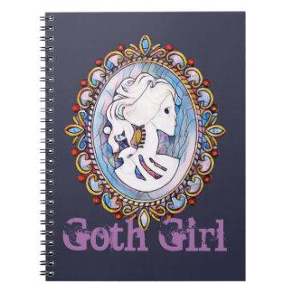 Goth Girl Notebook