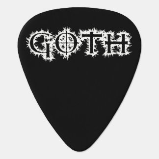 Goth Guitar Pick