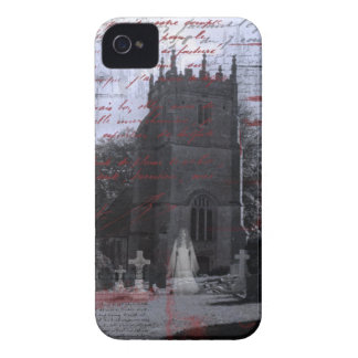 Goth Haunted Cemetery iPhone Case-Mate iPhone 4 Cover