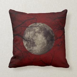 Goth Moon Throw Pillow