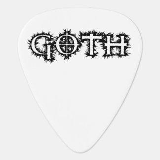 Goth Onglet De Guitare