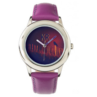 Goth Quoth The Raven Under Midnight Sky, Monogram Watch