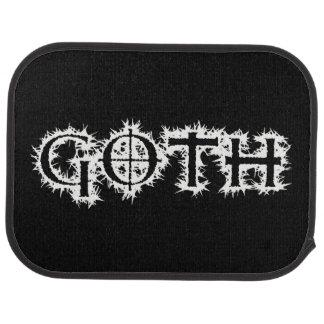 Goth Tapis De Voiture