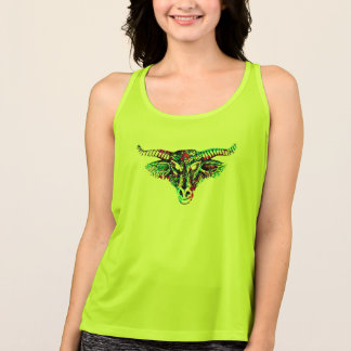 goth Taurus tank top tshirt design gift ideas