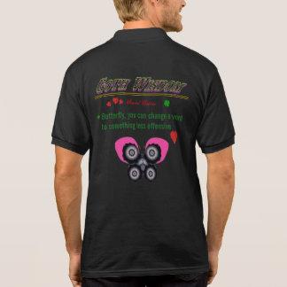 Goth Wisdom Grace Polo Shirt