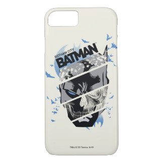Gotham City Batman Skull Collage iPhone 7 Case